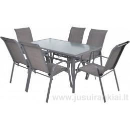 Lauko baldų komplektas SOFIA SET 6