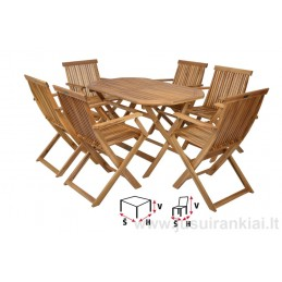 Lauko baldų komplektas HECHT BASIC SET 6