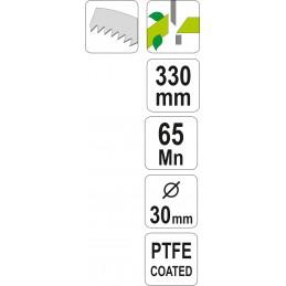 Medžio genėtuvas 330 mm. svertinis FLO Y-99310