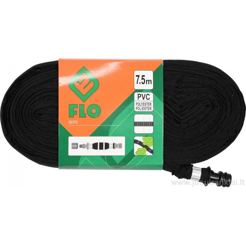 Žarna 7,5m laistymui lašalinė, PVC FLO-89370