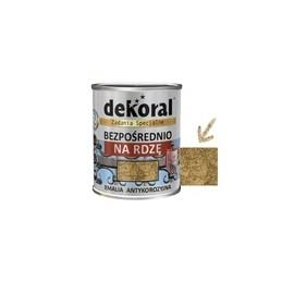 Emalis antikorozinis 0,65ltr. sp. auksinė marmurinė DEKORAL