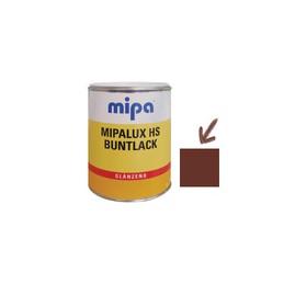 Emalis blizgus 0,75ltr. sp. raudonai ruda RAL8012 MIPA