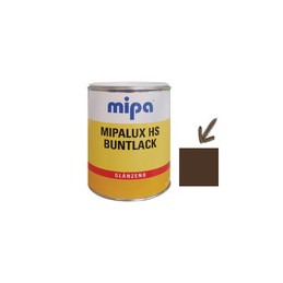 Emalis blizgus 0,75ltr. sp. tamsiai ruda RAL8014 MIPA