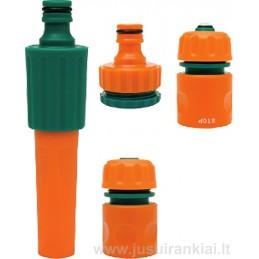 """Antgalis 1/2"""", 3/4"""" laistymui plastmasinis reguliuojamas FLO Y-892042"""