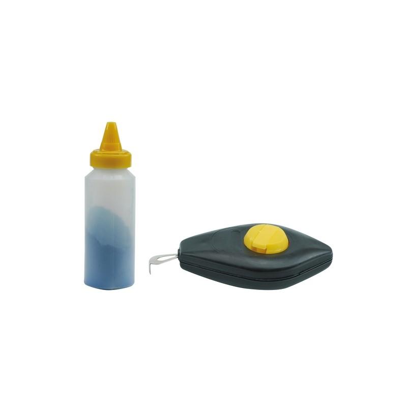 Ištraukiama dažanti virvutė ir milteliai mėlyni VOREL Y-17505