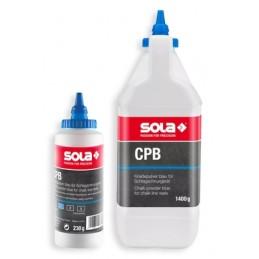 Milteliai CPB mėlyni dažantys ištraukiamai virvutei Sola CPB1400