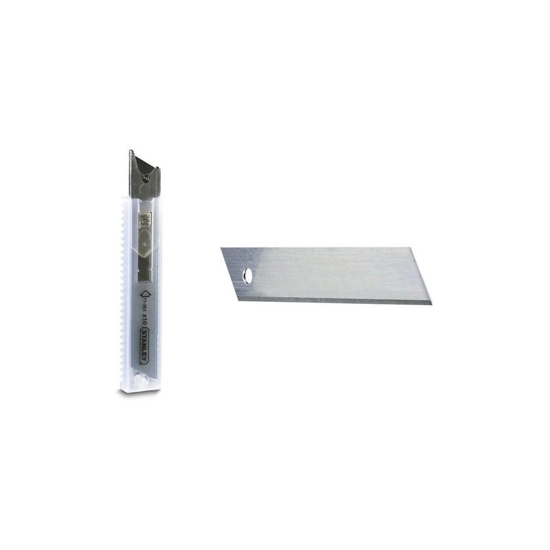 Atsarginių peiliukų 18mm rinkinys STANLEY 0-11-301