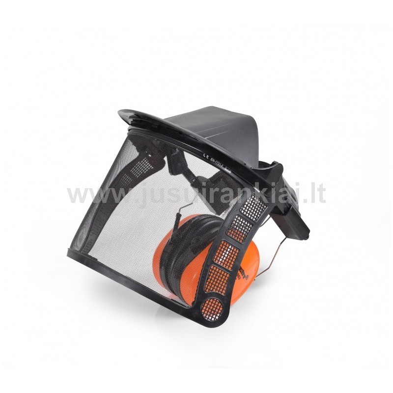 Apsauginis skydelis su ausų apsauga HECHT 900105