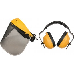 Apsauginis skydelis+apsauginės ausinės VOREL Y-74462