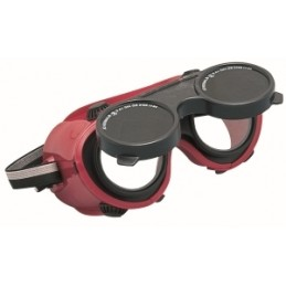 Suvirintojo akiniai, su pakeliamuoju stikliuku Wedmaster CE KAUFMANN K-922.01