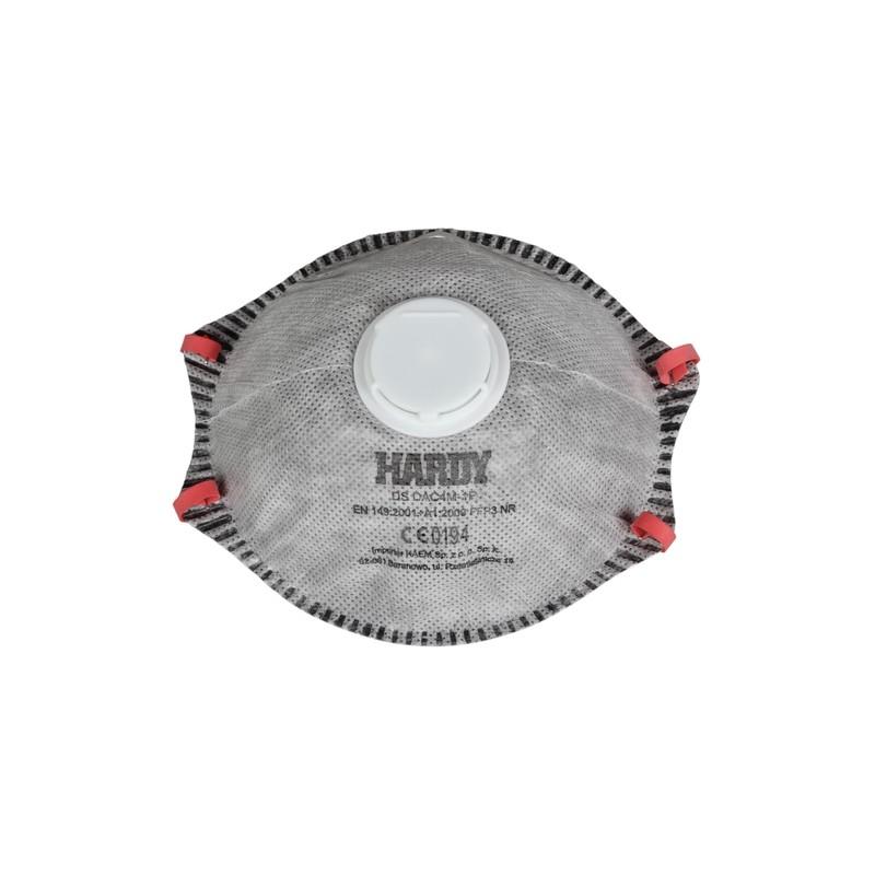 Respiratorius-kaukė su vožtuvu FFP3 HARDY H-680002