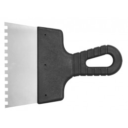 Glaistyklė 200mm, 6x6mm. klijams, nerūdyjanti, dantyta VOREL Y-06302