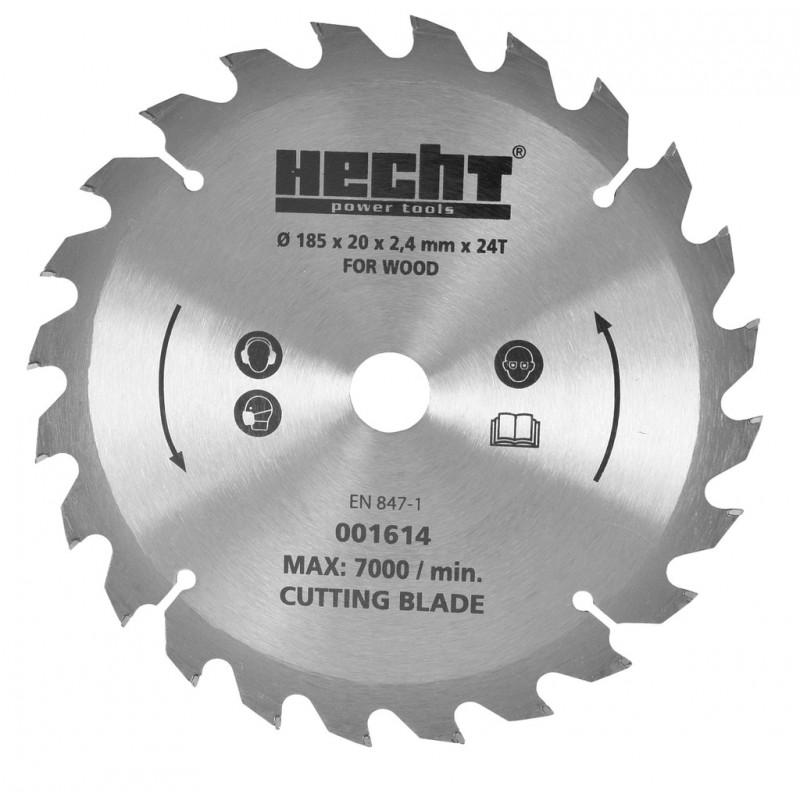 Pjovimo diskas 185x20x2,4mm. x24T, tinka Hecht 1614/1615, HECHT 001614