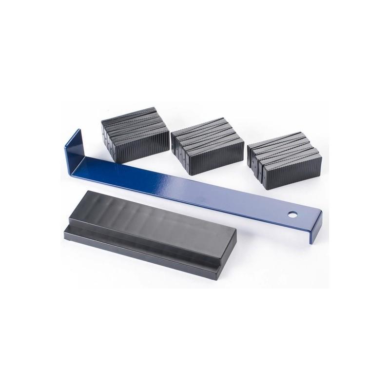 Įrankių rinkinys parketo-laminato dėjimui