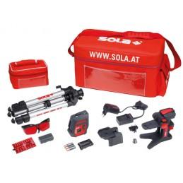 Linijinis taškinis lazeris Profiset (profesionali komplektacija) SOLA iOX5 PROFI