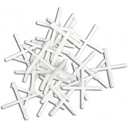 Kryžiukai 1,5mm. 200vnt. glazūruotoms plytelėms TOPEX 16B515