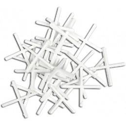 Kryžiukai 2,5mm. 150vnt. glazūruotoms plytelėms TOPEX 16B525