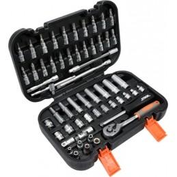 Įrankių rinkinys 56vnt. STHOR Y-58643