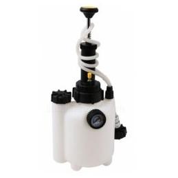 Stabdžių ir sankabos sistemos nuorinimo įrankis su pompa