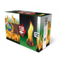 Įdegtukai ugnies 128vnt.