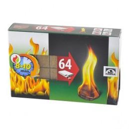 Įdegtukai ugnies 64vnt.