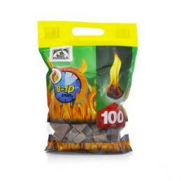 Įdegtukai ugnies supjaustyti 100vnt.
