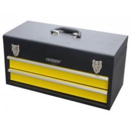 Dėžė įrankiams 510x218x250mm. 2 stalčiai CROWNMAN