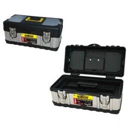 Dėžė įrankiams metalinė/plastikinė 41x21.5x18.3cm. CROWNMAN