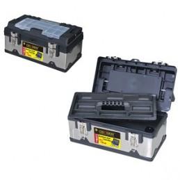 Dėžė įrankiams metalinė/plastikinė 45x25x20cm. CROWNMAN