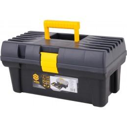 Dėžė įrankiams plastikinė 410x210x190mm. VOREL Y-78800