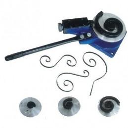 Mechaninis juostos lankstytuvas su 3 formomis