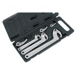 Reguliuojamų užmetamų raktų komplektas (19-120mm)