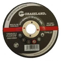 Nerūdijančio plieno šlifavimo diskas 125x6.0x22.2 27