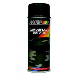 Purškiami dažai MOTIP Camouflage RAL 6031 green 400ml, Motip
