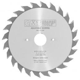 Diskas pjovimo 100x3,6/2,8x20 Z10+10 HM, CMT
