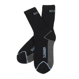 Kojinės Manica vasarinės juodos 3vnt pakuotėje 39/43, Mascot