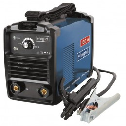 Suvirinimo elektrodais aparatas WSE 900 + priedai, Scheppach