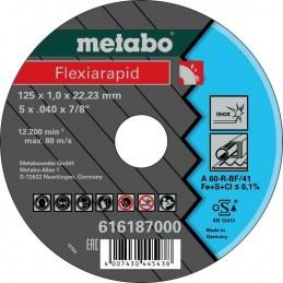 Pjovimo diskas 125x1mm A60R...