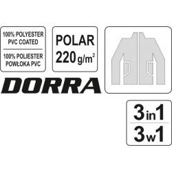 Striukė darbinė žieminė 3in1 DORRA Yato