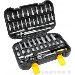 Įrankių rinkinys 56 vnt. Vorel