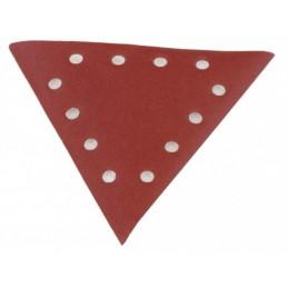 Triangle sanding paper, grit 80 - 10pcs. DS 930, Scheppach