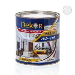 Emalė 2,6kg. sp. balta matinė DEKOR PF-115 Chimik