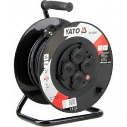 Prailgintojas elektros 40m. 4 lizdų, IP44, 3x1,5mm2 YATO YT-81054