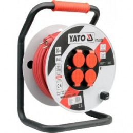Prailgintojas elektros 30m. 4 lizdų, IP44, 3x2,5mm2 YATO YT-8106