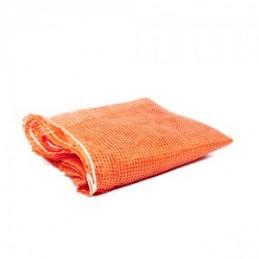 Maišas daržovėms pintas 50x90cm. oranžinis