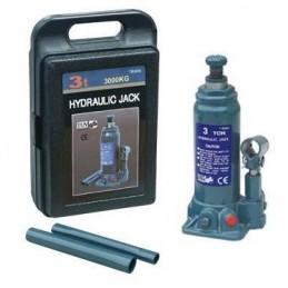 Hidraulinis domkratas 5T. Hmin/max-216/413mm. su plastikine dėže