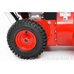 HECHT 9661 SE sniego valytuvas benzininis 5,5 AG / 4,11 kW su el. starteriu