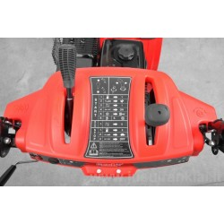 HECHT 9628 SE sniego valytuvas benzininis 7,5 AG / 5,6 kW su el. starteriu