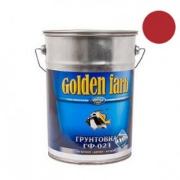 Gruntas 6kg. GOLDEN FARB GF-021 raudonai-rudas, CHIMIK
