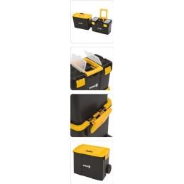 Dėžė įrankiams ant ratuku, 2 dalių VOREL Y-78731